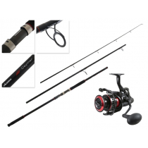 Okuma Ceymar CMBF-365 Medium Spin Surfcasting Combo with Line 13ft 6in 3pc