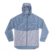 Desolve Compass Windcheater Mens Jacket Mist/Steel