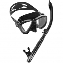 Cressi Ranger Mask and Tao Snorkel Set