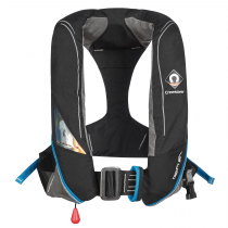 Crewsaver Crewfit 180N Pro Manual with Harness Inflatable Life Jacket Black