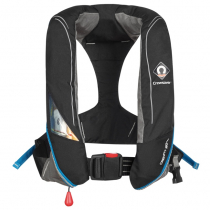 Crewsaver Crewfit 180N Pro Manual Inflatable Life Jacket Black