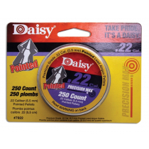 Daisy .22 Caliber Pointed Pellets 250 Count - 12 Tubes