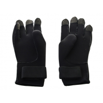 Mirage Kevlar Lite 3mm Neoprene Dive Gloves Black 2XL