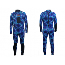 Aropec Blue Camouflage Mens Spearfishing Wetsuit 2mm 2XL