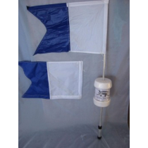 Nacsan Standard Dive Flag 600x600mm