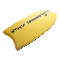 Extreme Limits XPE Slick Body Board with Leash 37in Yellow