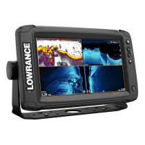 Lowrance Elite-9 Ti2 GPS/Fishfinder NZ/AU with Active Imaging 3-in-1 Transducer
