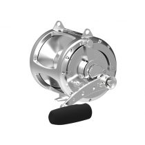 Avet EXW 80/2 2-Speed Lever Drag Big Game Reel Silver
