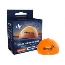 Deeper Smart Fishfinder/Sonar Night Fishing Cover Orange