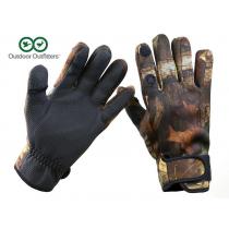Outdoor Outfitters Neoprene Camo Full Finger Gloves