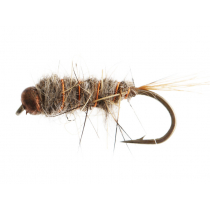 Black Magic Copperbead Hare and Copper Trout Fly Size B12