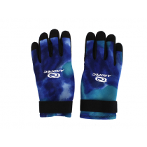 Aropec Blue Camo Spearfishing Dive Gloves 2mm