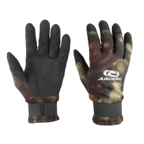 Aropec Camo Spearfishing Dive Gloves 2mm