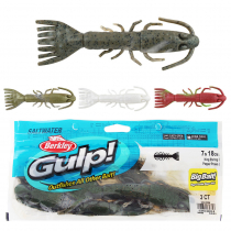 Berkley Gulp King Shrimp Soft Bait 18cm Qty 3
