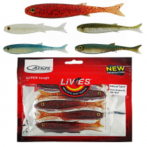 Catch Livies Soft Bait Natural Tail 4in