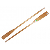 Gull Wooden Oars Varnished Tasman Fir