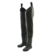 Kilwell Hip Waders with Cleated Soles Olive US6