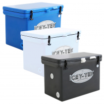Icey-Tek Cube Chilly Bin Cooler with Divider 105L
