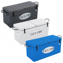 Icey-Tek Long Chilly Bin Cooler with Split Lid