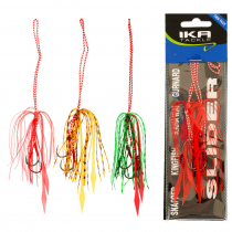 Ika Tackle Slider Lure Replacement Skirt Qty 2