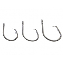ManTackle Big Stainless Circle Offset Hook