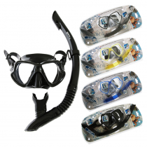 Mares Wahoo Adult Silicone Dive Mask and Snorkel Set