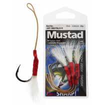 Mustad Jigging Assist Hooks with Flasher Attractant