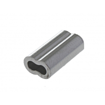 Pakula Aluminium Double Sleeves 1.8mm Qty 20