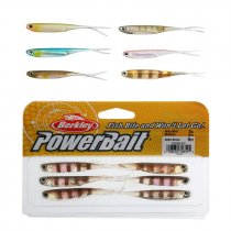 Berkley PowerBait Drop Shot Minnow Soft Bait 8cm Qty 6