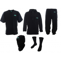 Ridgeline Top to Toe 5 Piece Clothing Pack Black