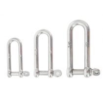 Stainless Steel Long D-Shackle Pin