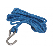 Trojan Hi Tech Trailer Heavy Duty Winch Rope Blue