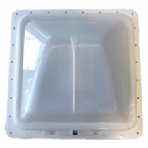 Metal Frame Roof Vent (360mm x 360mm) - Opaque Dome