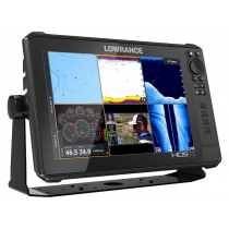 Lowrance HDS-12 LIVE GPS/Fishfinder NZ/AU with Active Imaging 3-in-1 Transducer
