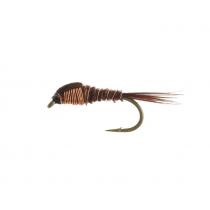 Fishfighter Copper Pheasant Tail Weighted Nymph