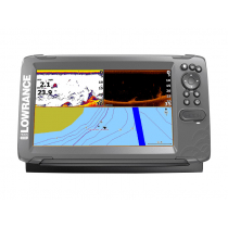 Lowrance HOOK2-9 CHIRP GPS/Fishfinder SplitShot Package