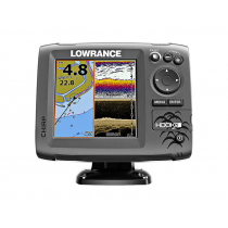 Lowrance HOOK-5 CHIRP GPS/Fishfinder DownScan Package