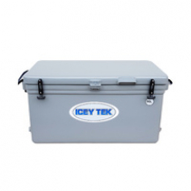 Icey-Tek Long Chilly Bin 90L Light Grey