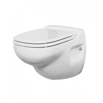 VETUS Electric Wall Toilet with Control Panel 12V