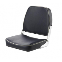 V-Quipment Fisherman Classic Folding Seat Dark Blue with White Seams
