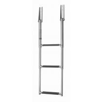 V-Quipment 3-Step Telescopic Stainless Steel Boarding Ladder