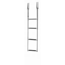 V-Quipment 4-Step Telescopic Stainless Steel Boarding Ladder