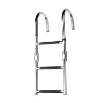 V-Quipment 3-Step Folding Boarding Ladder Deck Mount