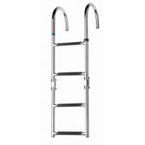V-Quipment 4-Step Folding Boarding Ladder Deck Mount