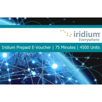 Iridium Pre-Paid E-Voucher 75 Minutes 4500 Units 30 Day Validity