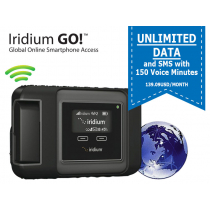 Iridium Go! Unlimited Data Monthly Subscription with 150 Voice Minutes - 139.09USD/month