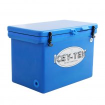 Icey-Tek Cube Chilly Bin Cooler Blue
