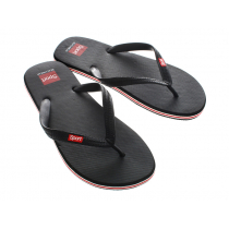 Beach Jandals Black US6