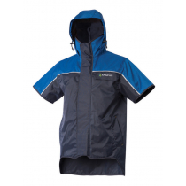 Kaiwaka Stormforce Blue Short Sleeve Hooded Jacket