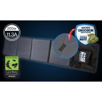 Hard Korr Lighting 200W Flexible Folding Solar Mat with Crocskin Cell Armour